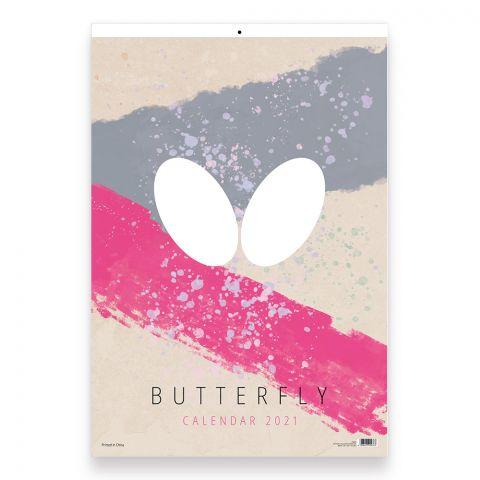 Butterfly Poster Calendar 2021