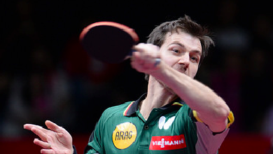 Training mit Timo Boll